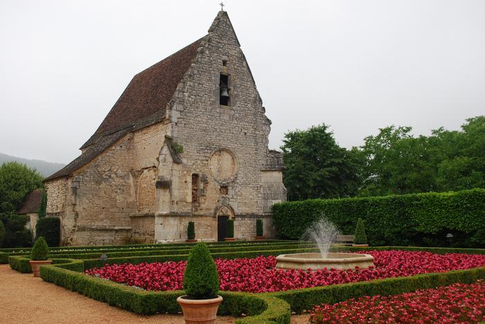 замок в Миланде (Chateau des Milandes). 93652