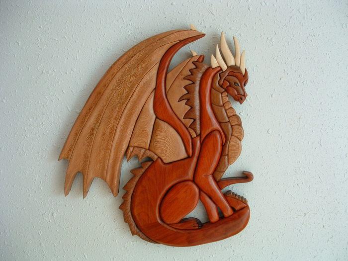 new crafts Sitting dragon (700x525, 68Kb)