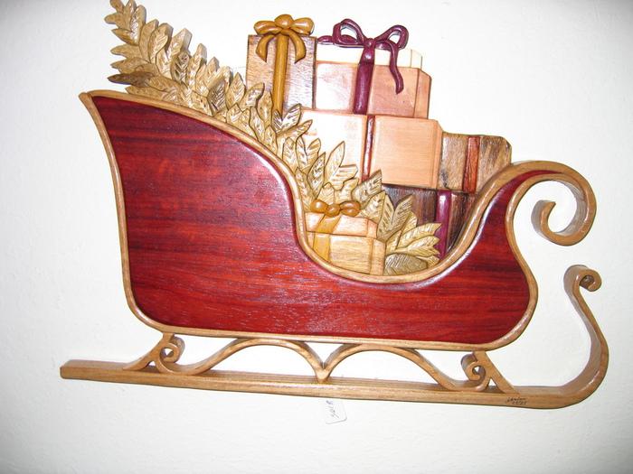 Santa's Sleigh (700x525, 178Kb)
