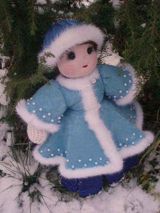 Шьем снегурочку своими руками