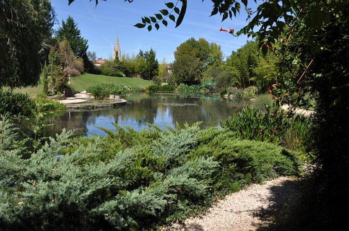 Есть в графском парке тихий пруд..... Там лилии цветут . .Ботанический сад Latour - Marliac. 52546