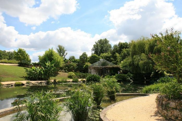 Есть в графском парке тихий пруд..... Там лилии цветут . .Ботанический сад Latour - Marliac. 50576