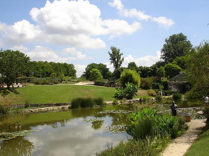 Есть в графском парке тихий пруд..... Там лилии цветут . .Ботанический сад Latour - Marliac. 92894