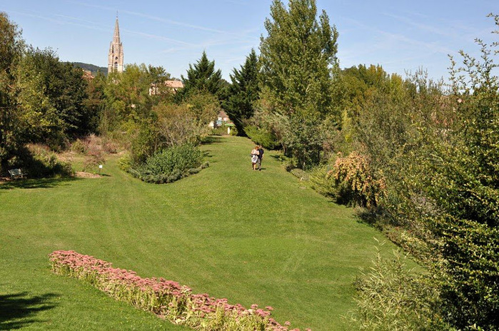 Есть в графском парке тихий пруд..... Там лилии цветут . .Ботанический сад Latour - Marliac. 95171