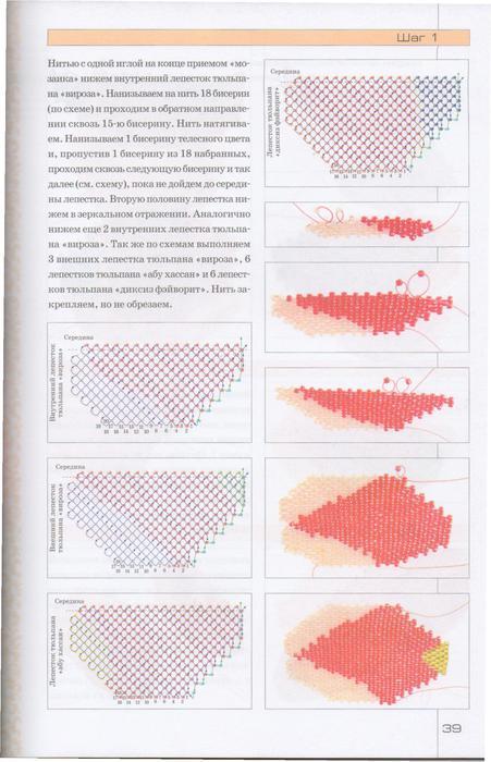 Цветы из бисера. Уникальный букет-38 (451x700, 54Kb)