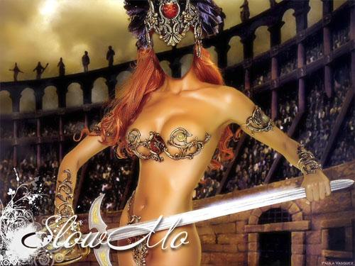 шаблон для фотошопа - Гладиаторша/4672272_gladiatorsha_Cover (500x375, 88Kb)