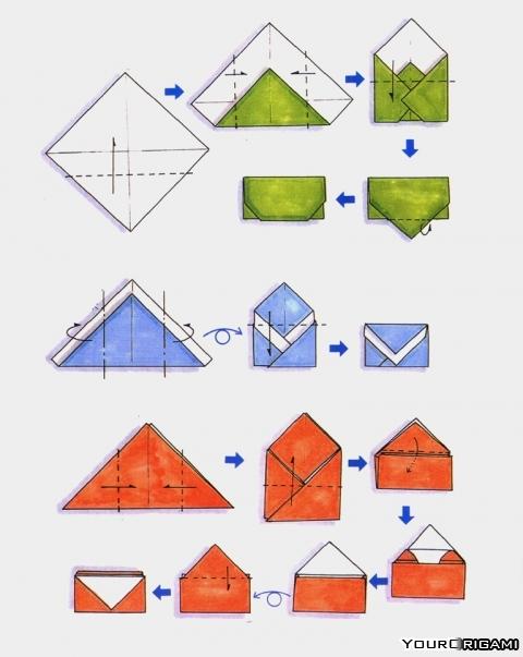 Как сделать оригами мышку фото 615