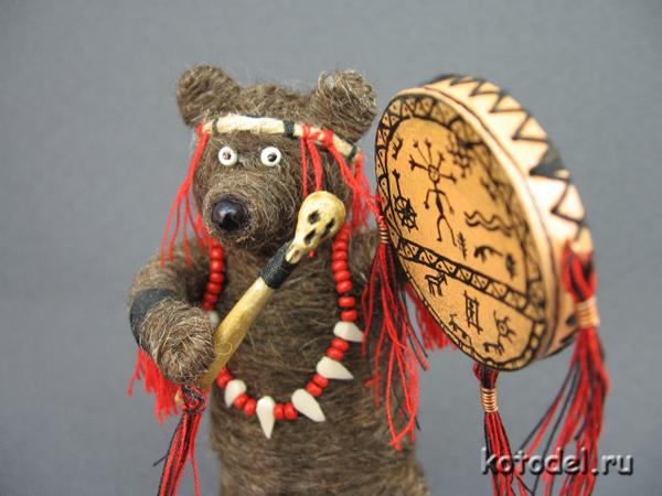 медведь шаман с бубном/3352934_medved_schaman___6 (600x450, 257Kb)