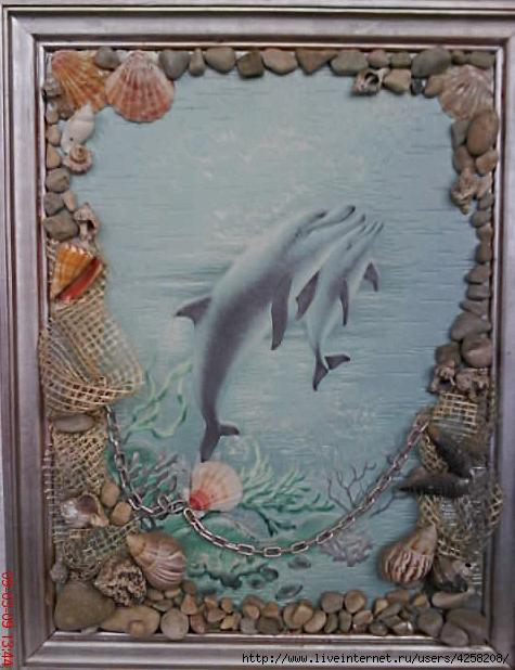Картины из морских ракушек своими руками мастер класс 10