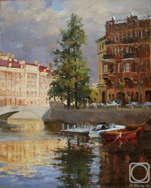 Канал Грибоедова. Отражения.
