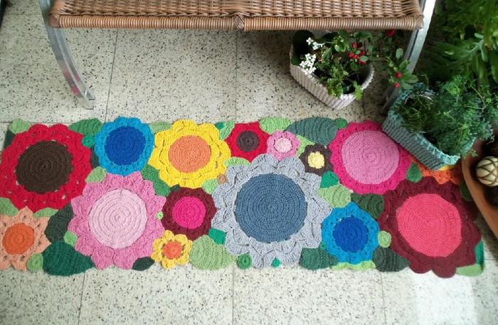 Идеи для ковриков своими руками