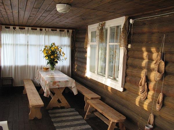 Убранство деревенского дома фото