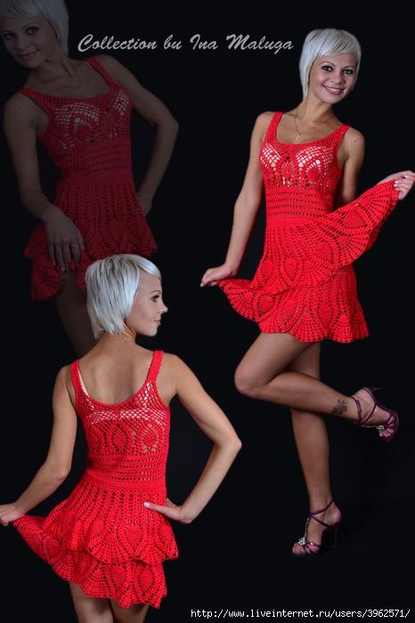красное платье (466x700, 171Kb)