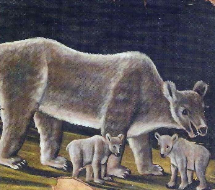 Niko-Pirosmani-Белая-медведица-с-медвежатами.-1910-12- (700x619, 118Kb)