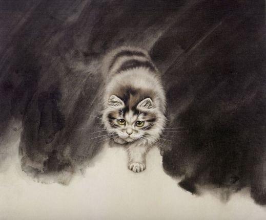 Кошки художника Сюй Синьци (1) (519x430, 29Kb)
