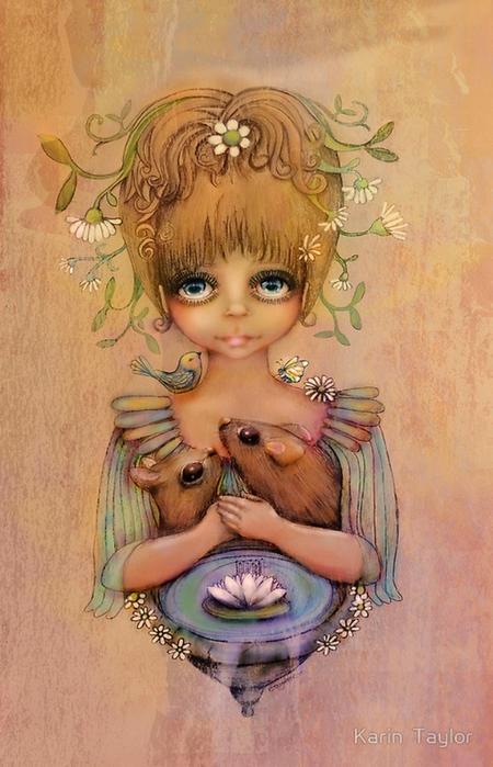Иллюстрации для детей от Карин Тейлор