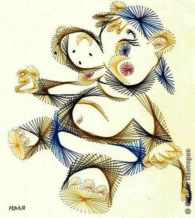 儿童手工:美丽的动物绣 - maomao - 我随心动