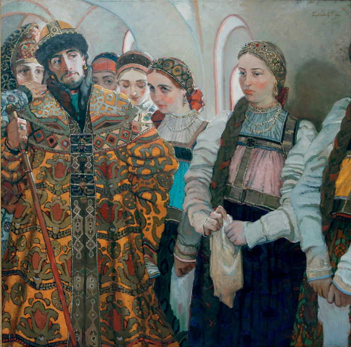 Голубечкова Светлана  -Выбор невесты (700x692, 239Kb)