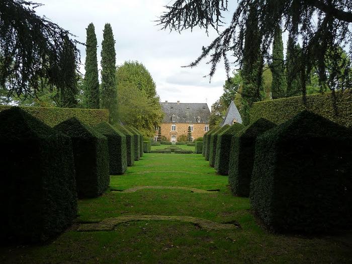 Сады поместья Эриньяк /Les Jardins du Manoir D'Eyrignac 92969