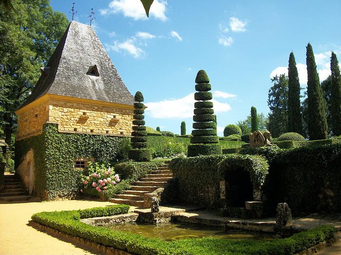 Сады поместья Эриньяк /Les Jardins du Manoir D'Eyrignac 42389