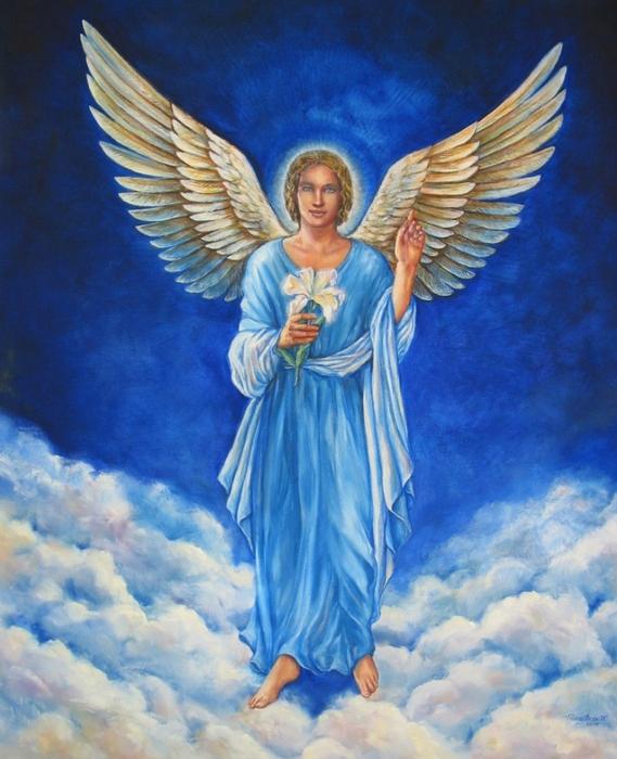Archangel Gabriel for Website (569x700, 293Kb)