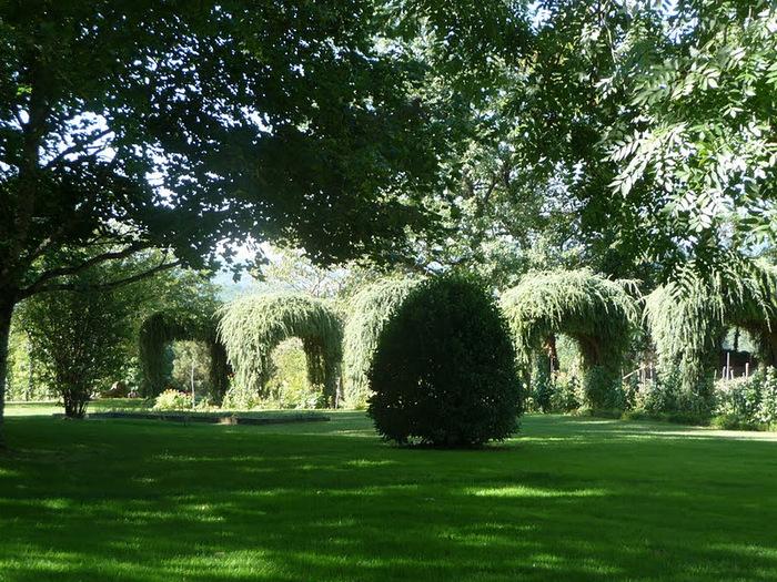Сады поместья Эриньяк /Les Jardins du Manoir D'Eyrignac 99410
