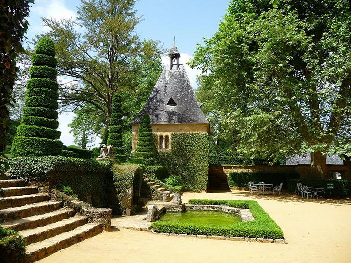 Сады поместья Эриньяк /Les Jardins du Manoir D'Eyrignac 91022