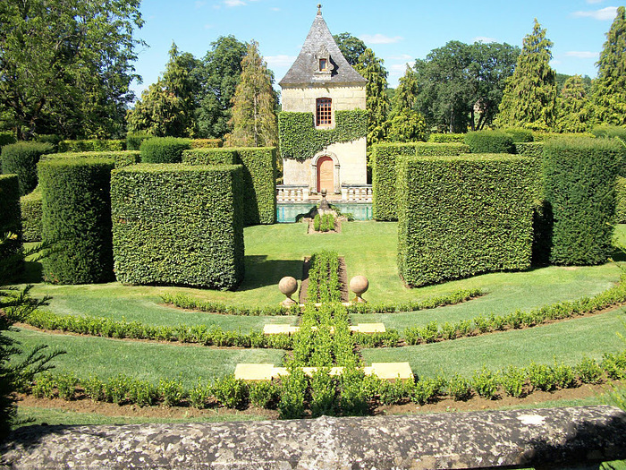 Сады поместья Эриньяк /Les Jardins du Manoir D'Eyrignac 89349