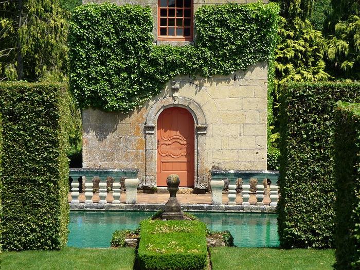 Сады поместья Эриньяк /Les Jardins du Manoir D'Eyrignac 75916