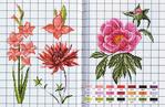 Вышивкой увлеклась не так давно, но, похоже, серьезно.  Х288,23 цвета, Схема вышивания крестиком Цветы на подоконнике...
