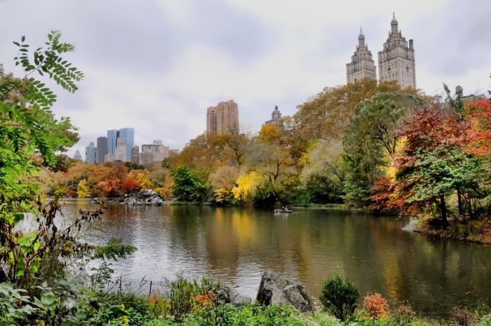 Осень Нью-Йорка