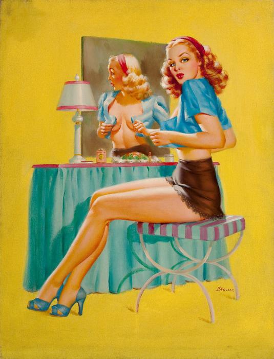 0018-1317132586_pin-up-at-the-mirror-calendar-illustration-c.-1945 (535x700, 559Kb)