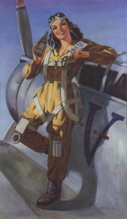 1317132620_smiling-aviatrix-standing-on-wing-of-plane-with-bottle-of-soda-calendar-illus. (405x700, 59Kb)