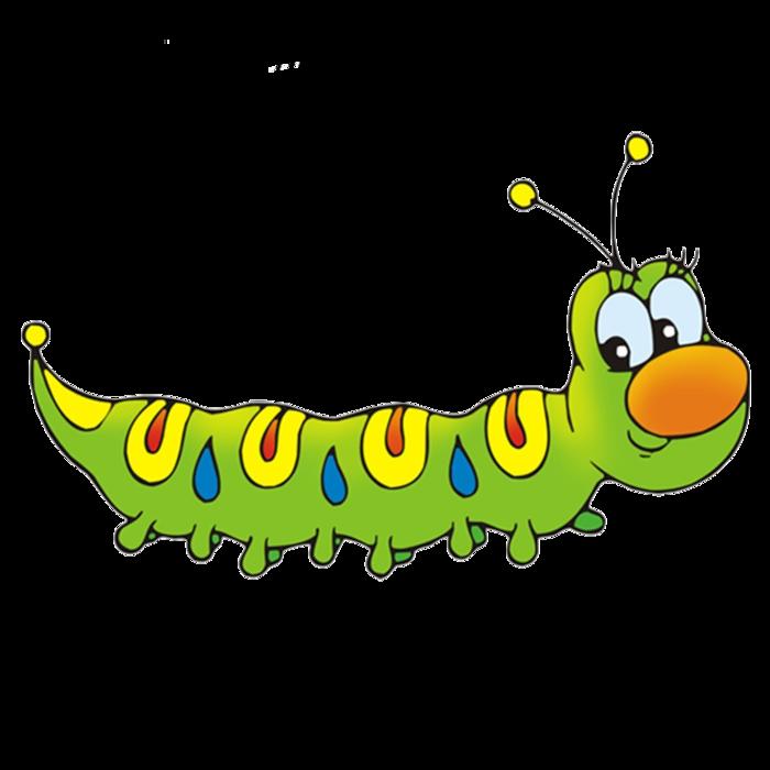 картинка гусеницы для детей