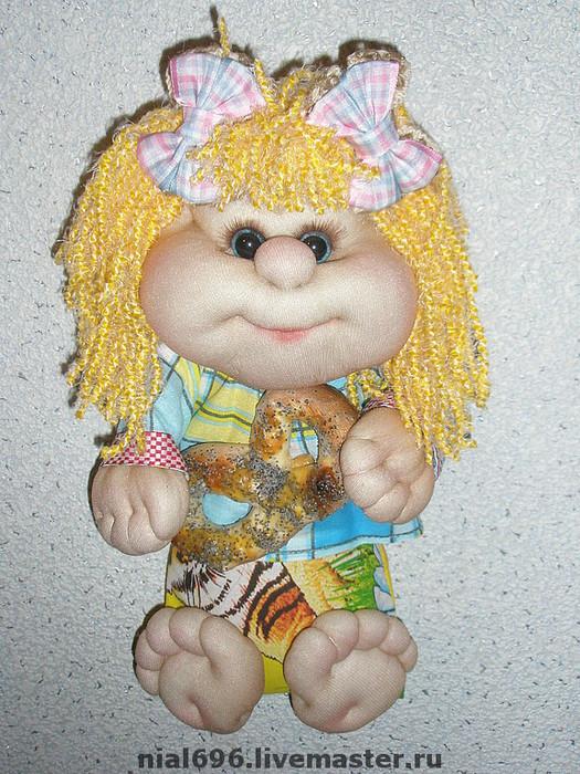 Куклы-обереги из капрона своими руками