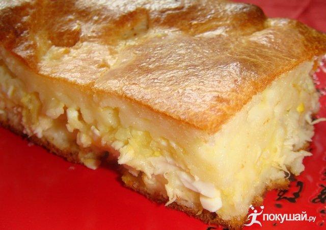 как сделать вкусный пирог из яиц