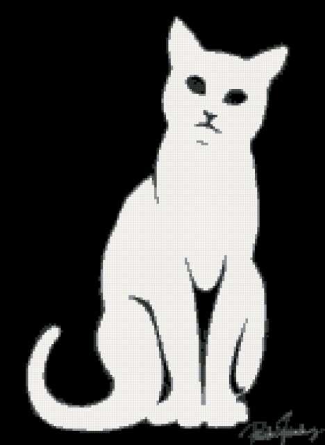 черно белый рисунок - Лучшие схемы в быту.