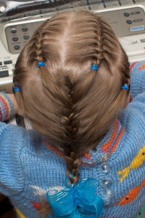 Необычные причёски для волос своими руками