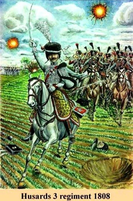 01 3-й гусарский в бою (463x700, 104Kb)
