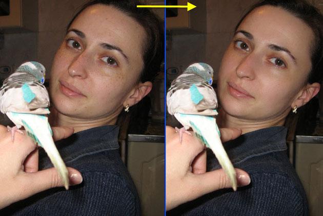 Как сделать кожу лица красивой в фотошопе
