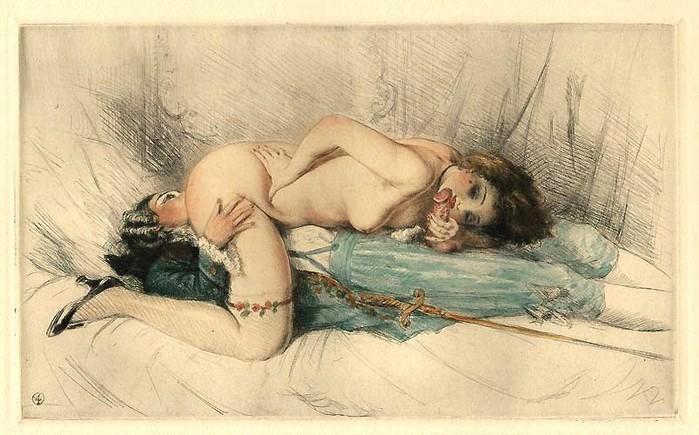 картины стариные эротические