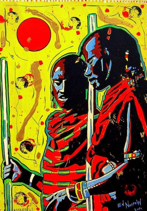 Яркий сюрреализм в искусстве Эда Нэроу (Ed Narrow) - Amboseli szupi (486x700, 357Kb)
