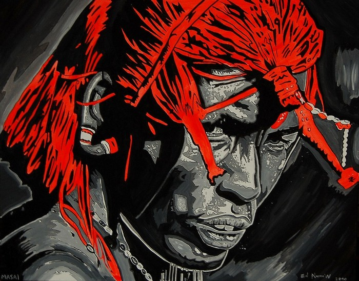 Яркий сюрреализм в искусстве Эда Нэроу (Ed Narrow) - b70af7dc4890 (700x548, 137Kb)