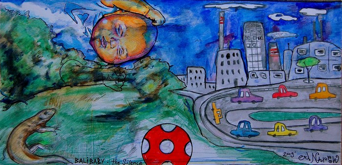 Яркий сюрреализм в искусстве Эда Нэроу (Ed Narrow) - BaliBaby2 (700x339, 143Kb)