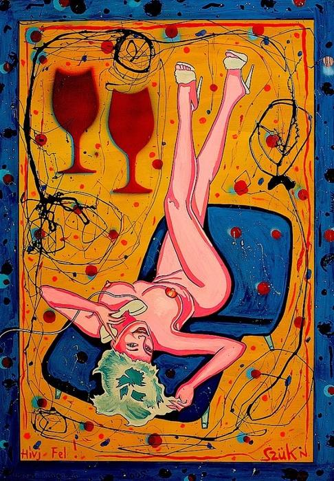 Яркий сюрреализм в искусстве Эда Нэроу (Ed Narrow) - Call Me-Telefon Sex1 (486x700, 380Kb)