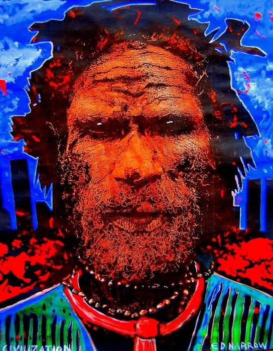 Яркий сюрреализм в искусстве Эда Нэроу (Ed Narrow) - Death Civilization 2009 (544x700, 396Kb)