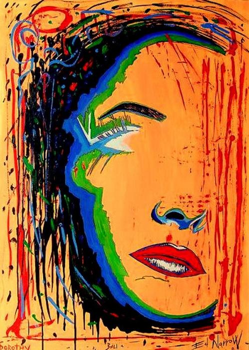 Яркий сюрреализм в искусстве Эда Нэроу (Ed Narrow) - Dorothy (499x700, 332Kb)