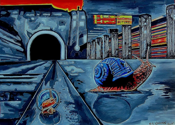 Яркий сюрреализм в искусстве Эда Нэроу (Ed Narrow) - fine 1 (700x500, 163Kb)