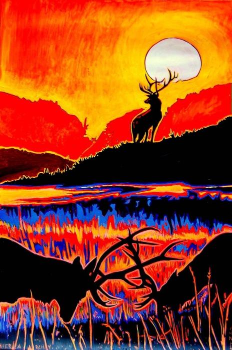 Яркий сюрреализм в искусстве Эда Нэроу (Ed Narrow) - HIERARCHY 2009 (464x700, 267Kb)