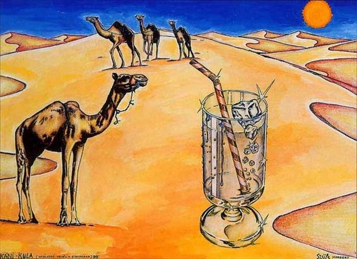 Яркий сюрреализм в искусстве Эда Нэроу (Ed Narrow) - Hot Wave (700x509, 108Kb)